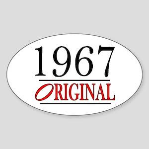 1967 Oval Sticker