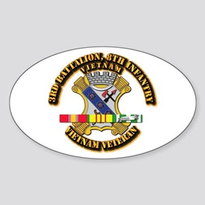 Army - 3rd Battalion, 8th Infantry w SVC Ribbons S