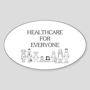 Healthcare 4 Everyone Oval Sticker