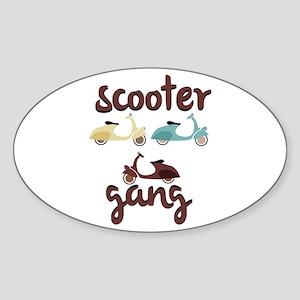 Scooter Gang Sticker