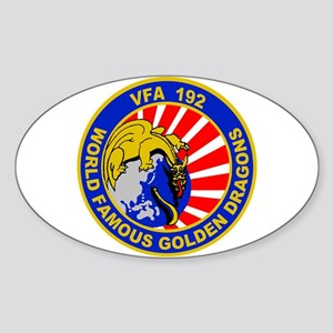VFA 192 Golden Dragons Oval Sticker