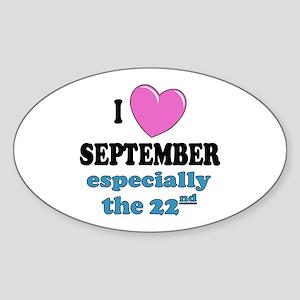 PH 9/22 Oval Sticker