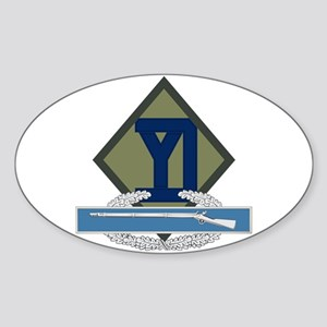26th Infantry CIB Sticker (Oval)