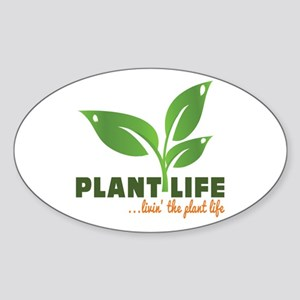 Plant Life Sticker (Oval)