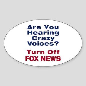 Turn Off Fox News Sticker