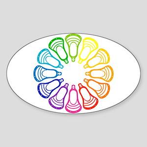 Lacrosse Spectrum Sticker