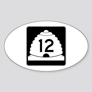State Route 12, Utah Sticker (Oval)