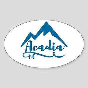 Acadia Maine Sticker