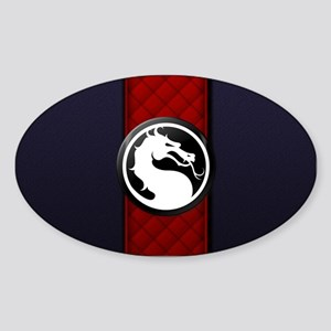 Mortal Kombat Logo - Ermac Sticker (Oval)