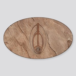 Bajoran Emblem Sticker (Oval)