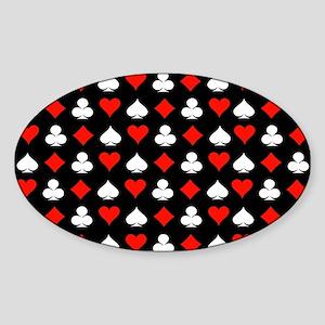Poker Symbols Sticker
