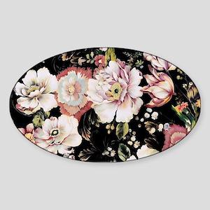 elegant vintage flowers nature floral art Sticker