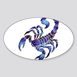Celestial Rainbow Scorpion Sticker