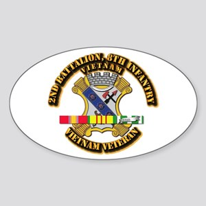 2nd Battalion, 8th Infantry Sticker (Oval)