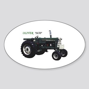 Oliver tractors Oval Sticker
