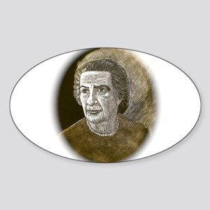 Golda Sticker (Oval)
