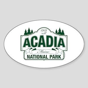 Acadia National Park Sticker (Oval)