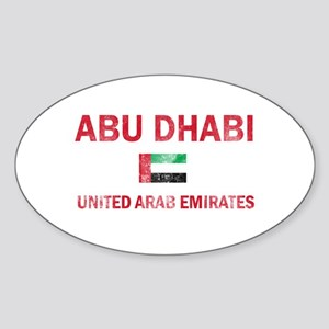 Abu Dhabi United Arab Emirates Designs Sticker (Ov