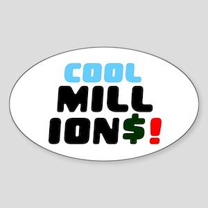 COOL MILLIONS! Sticker
