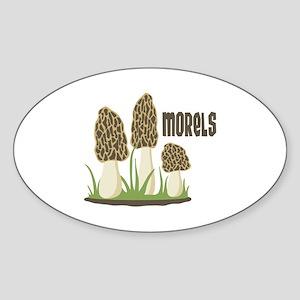 MORELS Sticker