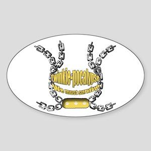 Twinkie-pocalypse 2 Sticker (Oval)