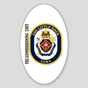 PCU Little Rock LCS-9 Sticker (Oval)