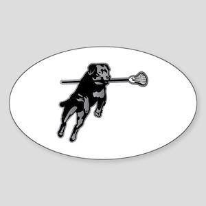 Lax Dog Sticker