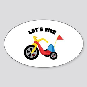 Lets Ride Sticker