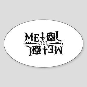 Metal on Metal Sticker