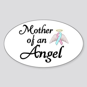 Mother of an Angel Sticker (Oval)