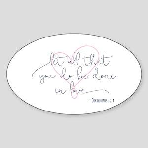 Done in Love Sticker