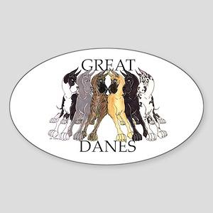 6C Lean GDs Oval Sticker
