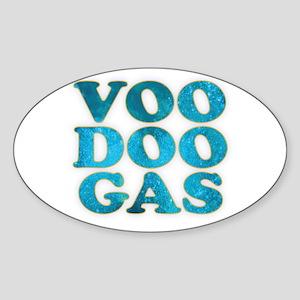 VooDoo Gas Oval Sticker