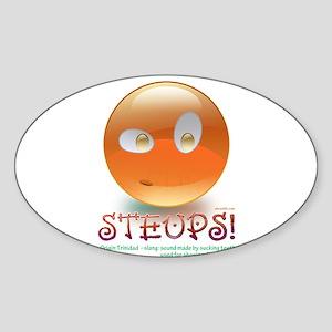 STEUPS Sticker (Oval)