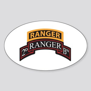 2D Ranger BN Scroll with Rang Oval Sticker