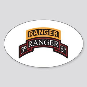 3D Ranger BN Scroll with Rang Oval Sticker