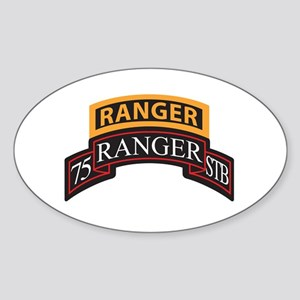 75 Ranger STB scroll with Ran Oval Sticker