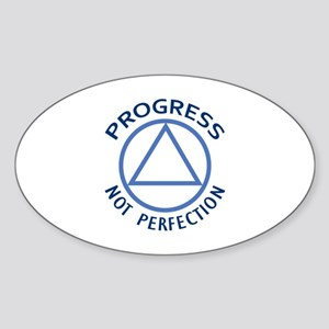 PROGRESS NOT PERFECTION Sticker