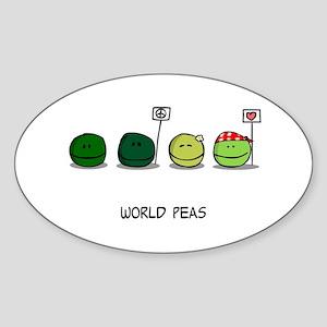 World Peas Sticker