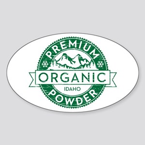 Idaho Powder Sticker (Oval)