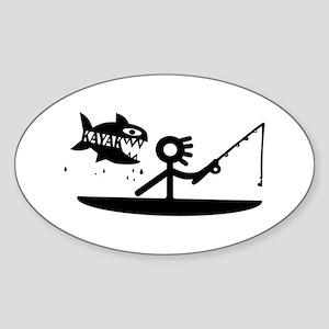 Kayak Fishing Sticker