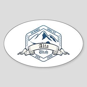 Alta Ski Resort Utah Sticker