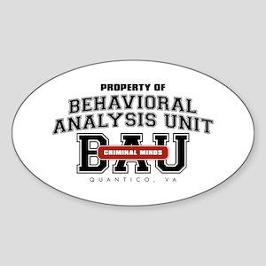 Property of Behavioral Analysis Unit - BAU Oval St