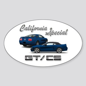 Vista Blue Products Oval Sticker
