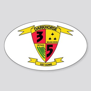 3rd Battalion 5th Marines Sticker (Oval)