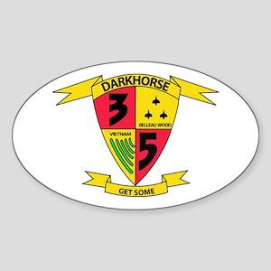 3rd Battalion 5th Marines Sticker (Oval)