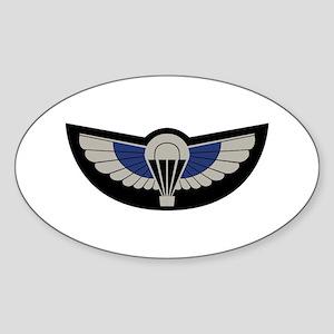 SAS Airborne Sticker (Oval)