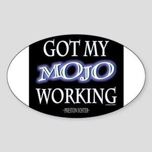 Mojo Working Sticker