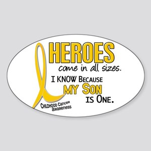 Heroes All Sizes 1 (Son) Oval Sticker
