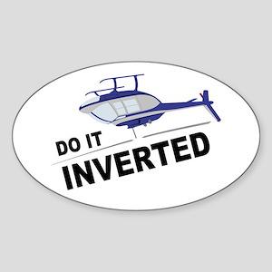 Do It Inverted JR Oval Sticker